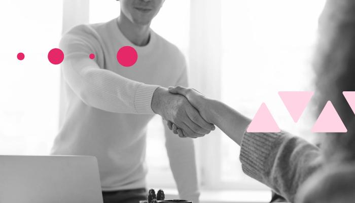 selling wordpress maintenance, two people agreeing a sale